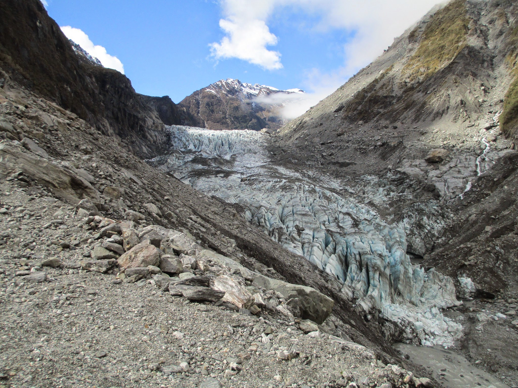 Franz Josef Glacier, glacier, franz josef, ice, south island, west coast, new zealand
