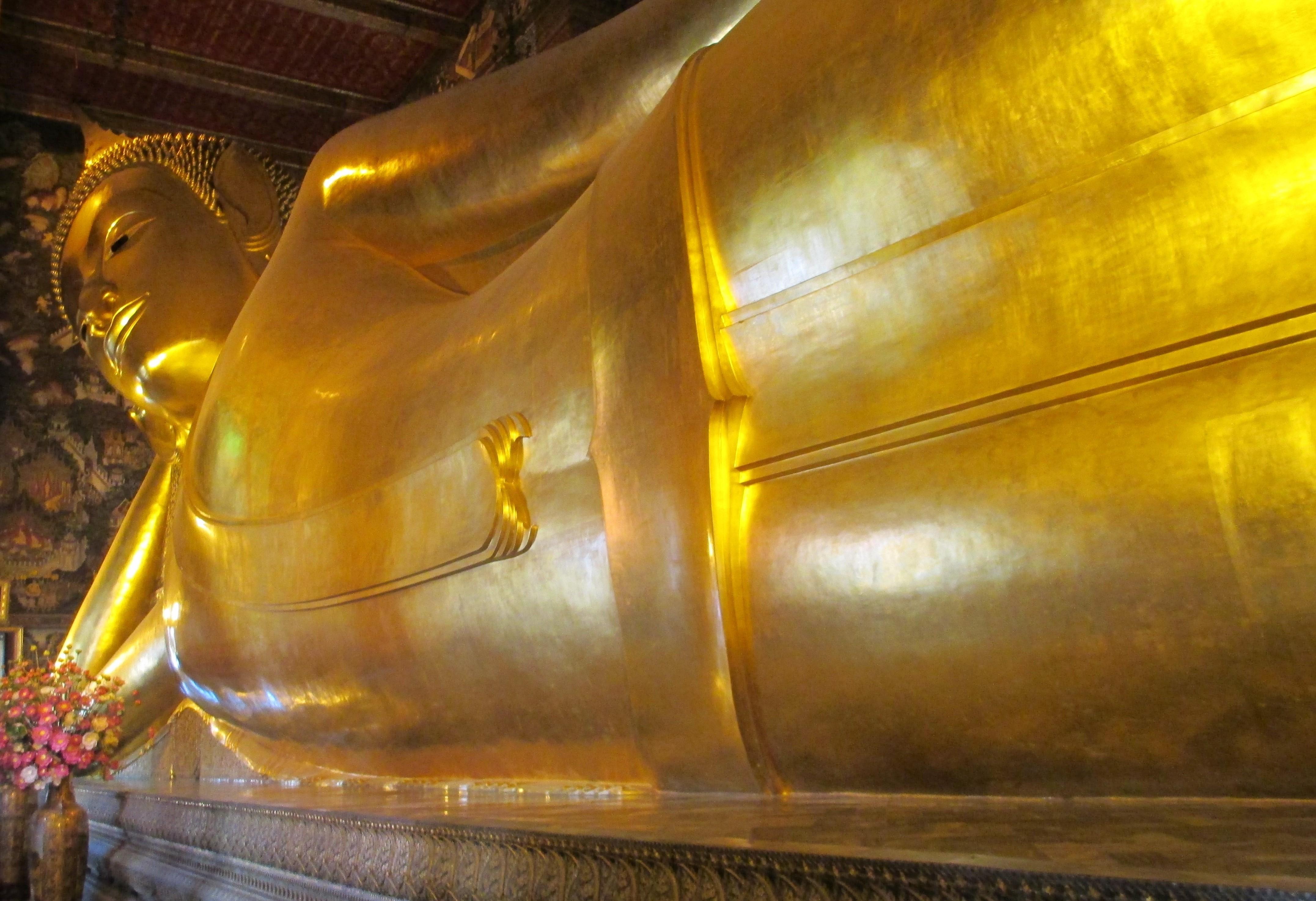 Reclining Buddha, Buddha, temples, bangkok, thailand, Wat Pho,