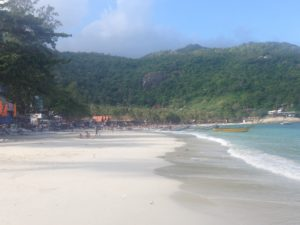 Haad rin beach, beach, haad rin, koh phangan, thailand, travels, travelling, backpacking, backpacks, full moon, full moon party, party, fire, buckets, sangsom,