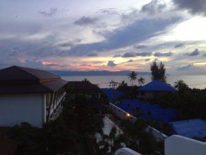 sunset, koh phangan, travels, travelling, backpacking, travels, thailand, beach, beaches, full moon, full moon party, buckets, seshing, sesh,