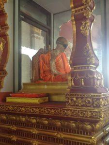 Mummified, monk, mummified monk, travels, travelling, backpacking, koh samui, thailand, tour, blog