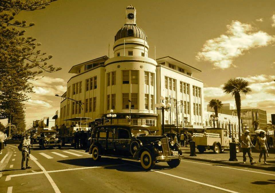 napier, art deco, north island, new zealand, buildings, 1920s.
