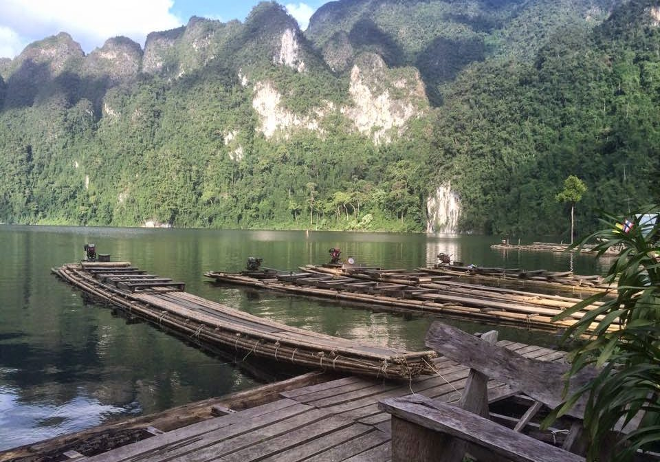 Khao Sok, National Park, thailand, travelling, backpacking, travels, bamboo rafts,