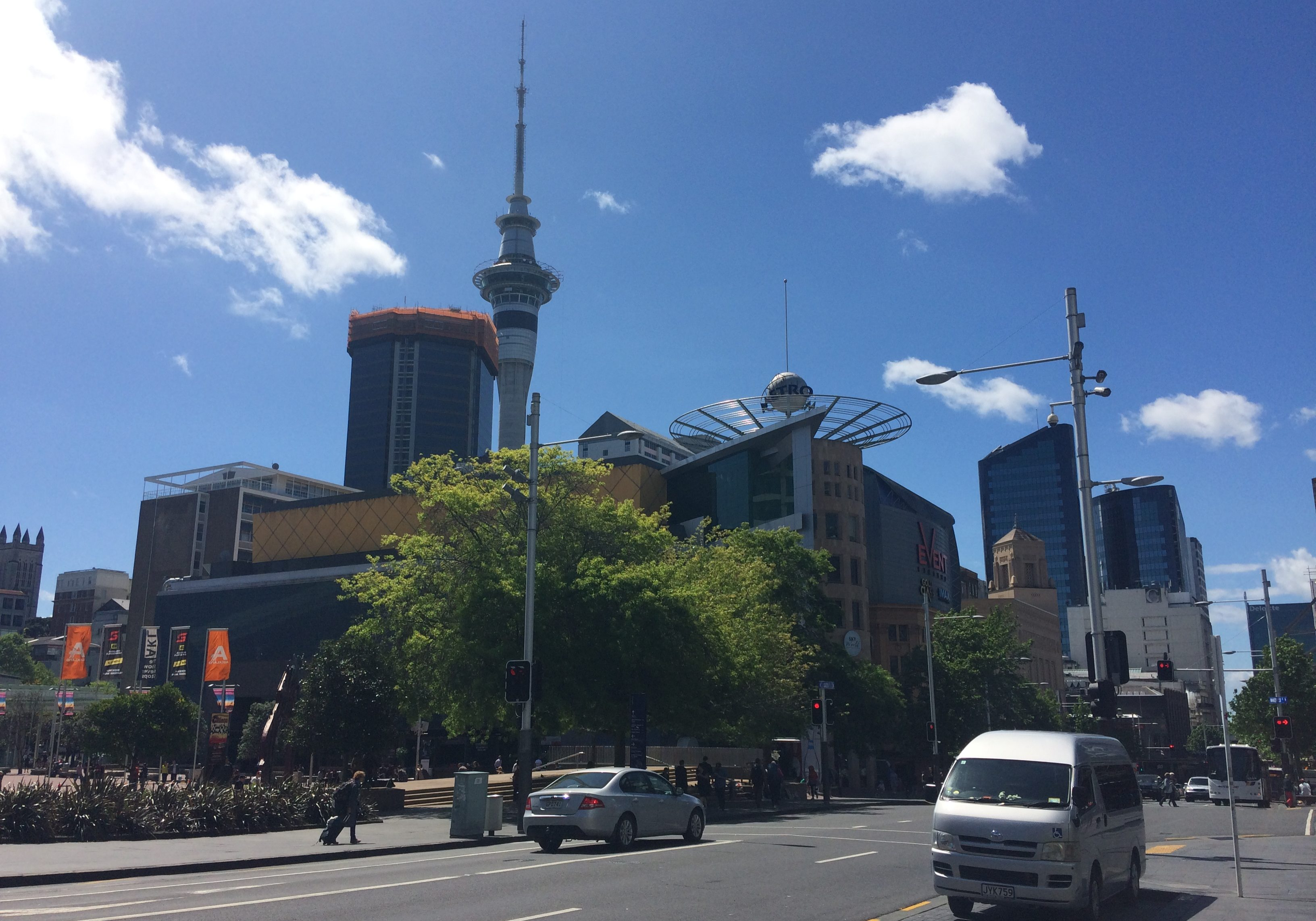 auckland, new zealand, city, landscape, blog, travel, travel blog, skytower