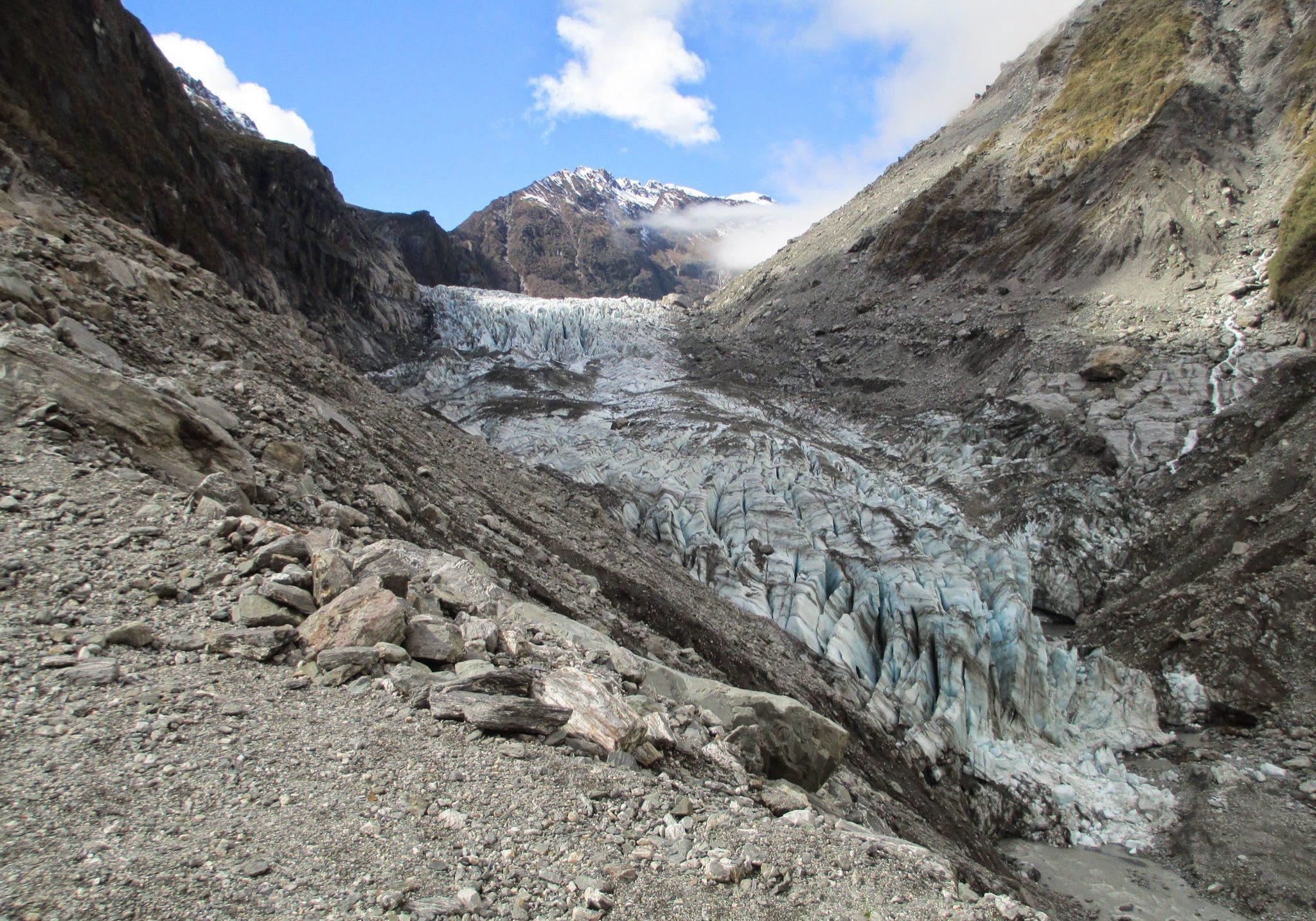 Franz Josef Glacier, glacier, franz josef, ice, south island, west coast, new zealand