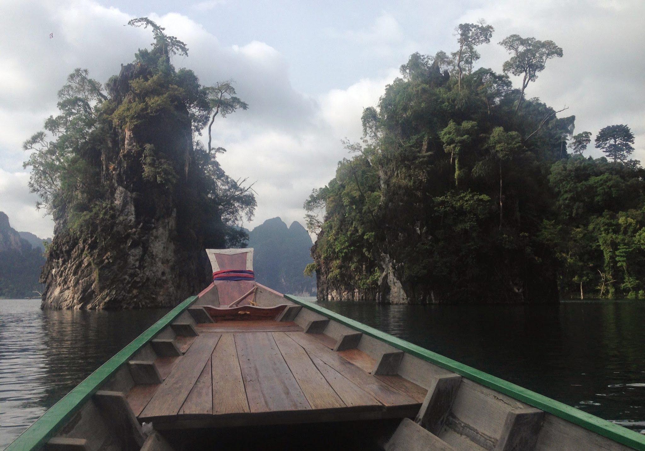 Cheow Lan Lake, thailand, kok sok national park, lake, long tail boat, travels, travelling, backpacking, sightseeing,