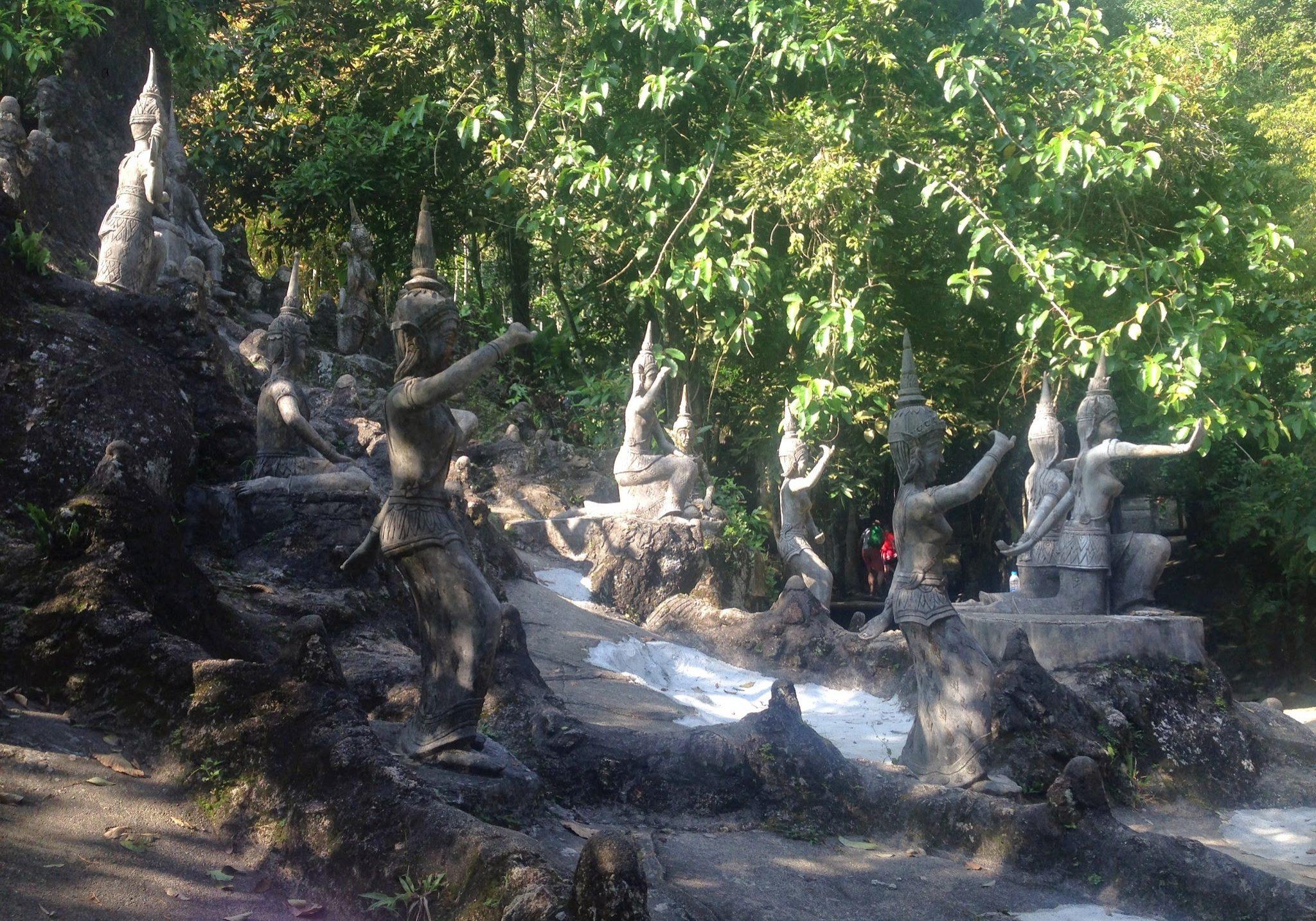 Secret Buddha Garden, koh samui, island, island, thailand, travelling, travels, backpacking,
