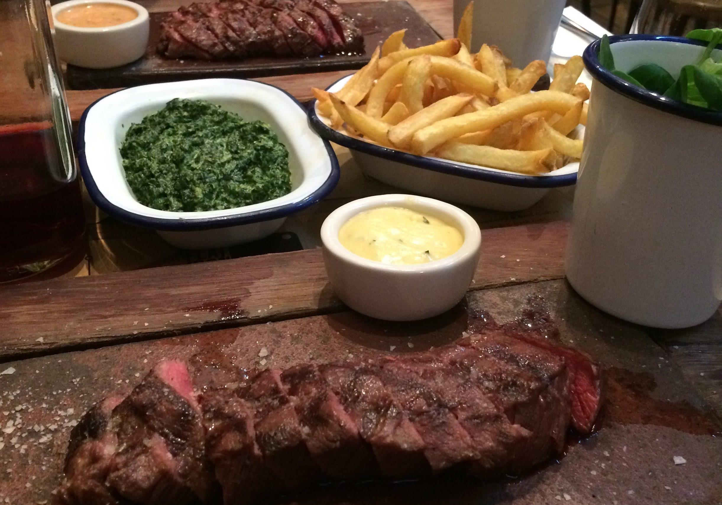 steak, flat iron, steak in london, food, food in london, bets things to eat in london,