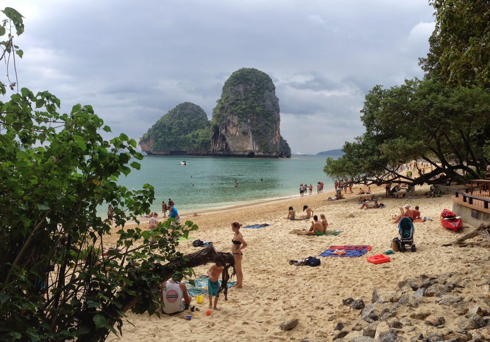 Railey beach, krabi, thailand, travels, travelling, beach, backpacking,