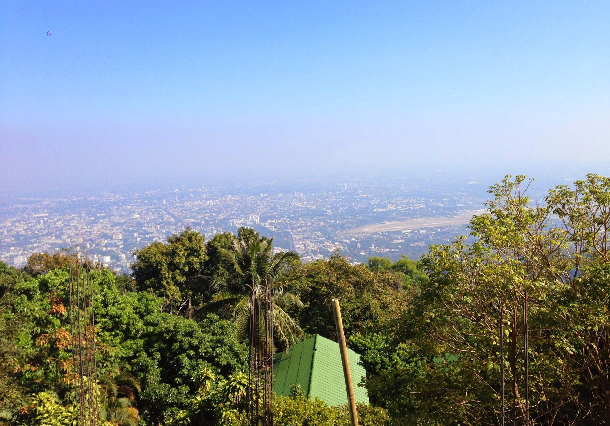 Doi Suthep, view, temple, chiang mai, thailand, travels, travellling, backpacking,