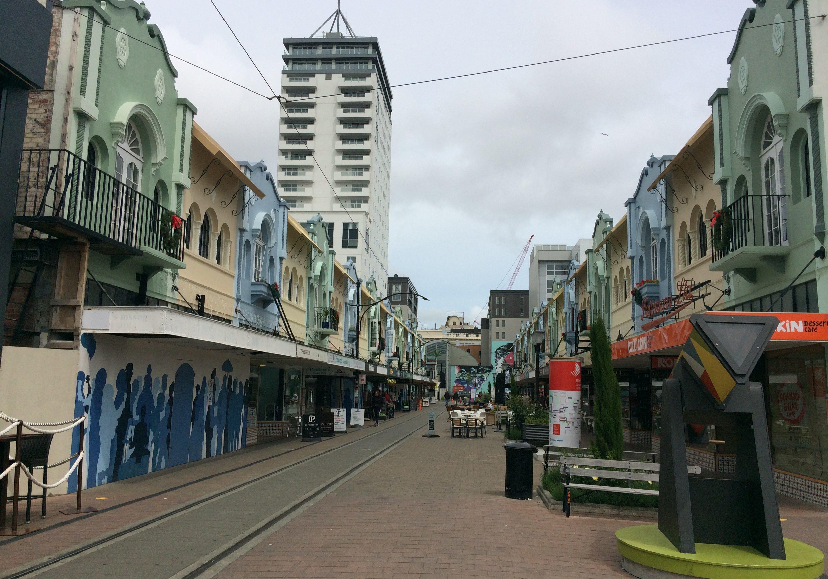 New regent street, christchurch, south island, New Zealand
