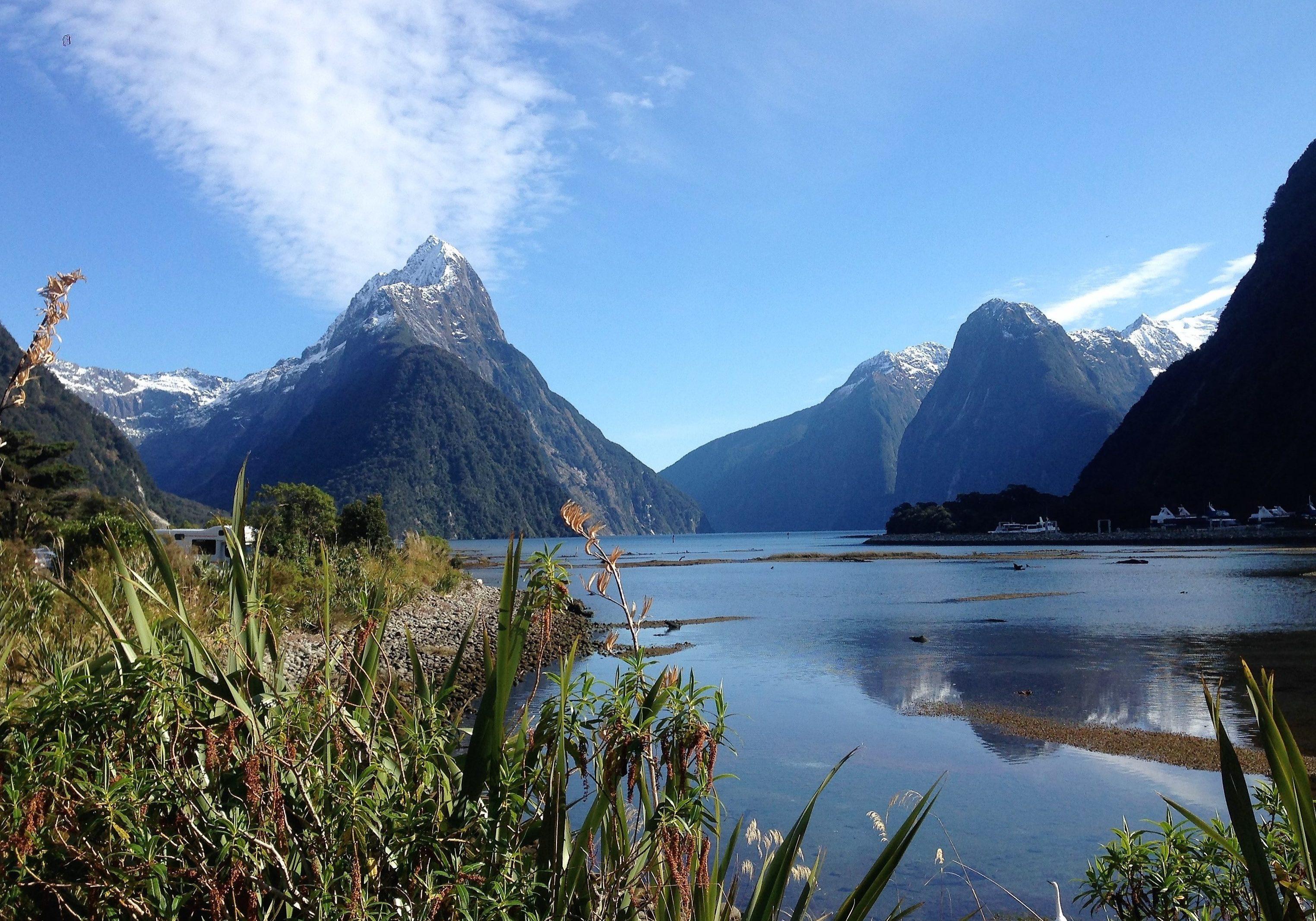 Milford Sound, crusie, fiord, sound, New Zealand, south island