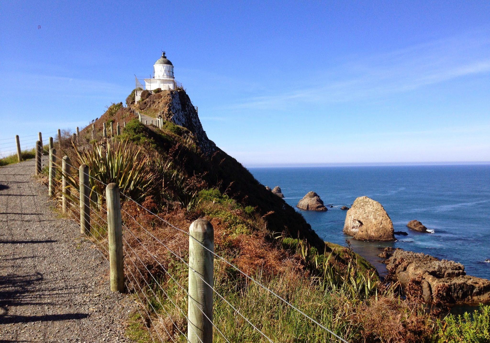 Nugget piont, catlins, the catlins, south coast, south island, new zealand, lighthouse, coastal, coast, coastal walk